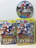 Mario & Sonic at the London 2012 Olympic Games, Complete w/ Manual Nintendo Wii