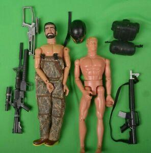 "Hasbro 1/6 Scale GI Joe 1996 12"" Nude Action Figure ERTL  & Accessories"