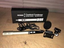Superscope EC-3S Cardioid Condenser Stop/Start Microphone