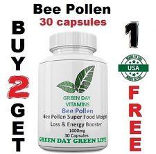 Bee Pollen 1000mg  Weight Loss , B-complex, Vit A,C,E. Made USA. Free shipping!