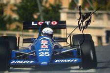 Rene Arnoux SIGNED F1 Ligier-Cosworth JS33, Monaco GP 1989