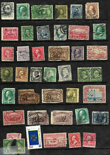 Collection 19th Century On Sc #206 279 Pair 309 Columbian & More Faults US 31D