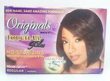 *2* Africas Best Organics TouchUp Plus Regular No-Lye Moisturizing Relaxer Systm