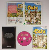 Catz ~ Nintendo Wii(PAL)~ Complete w/Manual ~ Free UK Postage