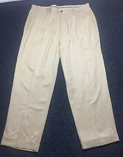 Tommy Bahama Relax Pants 100% Silk Tan Men's 40