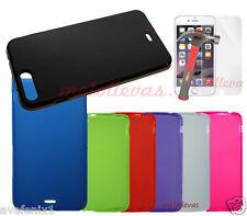 Funda para iPhone 7 Plus Gel Lisa + (Protector de cristal opcional) Colores