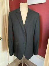 "Mens Holland Esquire Charcoal grey pinstripe Jacket 42"" chest"