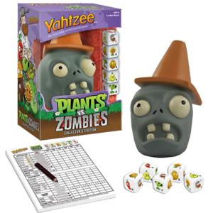 Yahtzee: Plants vs Zombies Collectors Edition [Hasbro Custom Dice Game] NEW
