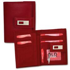 Porte-Monnaie Cuir Rouge XL Portefeuille Porte-Monnaie OPD701R [ Old River ]
