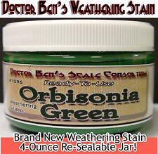 Orbisonia Depot Green Weathering Stain-4oz Doctor Ben's Scale Consortium Scale