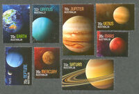 Australia--Solar System - The Planets set cto-fine used 2015-Space