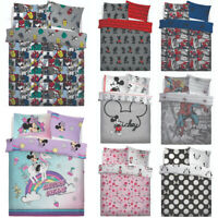 Spiderman Marvel Mickey Minnie Mouse Disney Character Duvet Cover Set Bedding