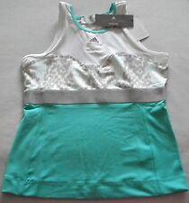 NWT $60 Women ADIDAS Barricade STELLA McCARTNEY Shirt TENNIS TOP TANK Medium
