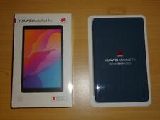 Huawei Matepad T8 Deep Blue 8 inch Tablet + Genuine Flip Pad Case Bundle