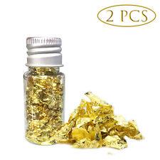 10ml Essbare Goldflocken Essbare Blattgoldmaske Dekoration Kochen Kuchen