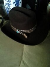 NEW HANDMADE RATTLESNAKE HATBAND (HAT NOT INCLUDED) UNUSUAL L@@K!!! US ONLY