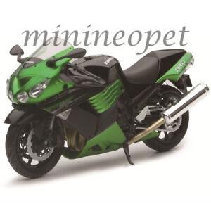 NEW RAY 57433 B 2011 KAWASAKI ZX-14 NINJA BIKE MOTORCYCLE 1/12 GREEN