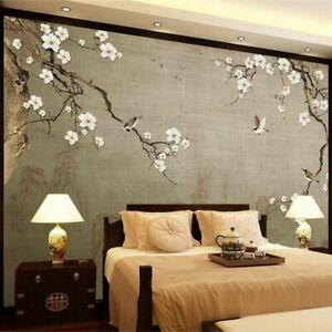 Asian Wallpaper For Living Room Antique Walls Covering Adhesive Wall Paper Decor