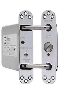 Perko Powermatic R100 Hydraulic Door Closer Chrome Brand New Boxed