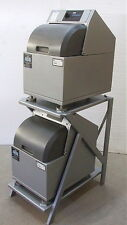 (2) Remanufactured Fluid Management VR-1 paint mixers with space saver stand
