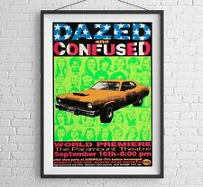 Vintage Movie Poster, Dazed and Confused Poster, Vintage Movie Poster
