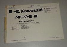 Teilekatalog / Ersatzteilliste / Parts List Kawasaki KEF 300 A 3 von 1997
