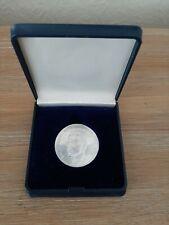 """Zilveren muntstuk """"Koning Boudewijn I"""" 1986.    2500 exemplaren"""