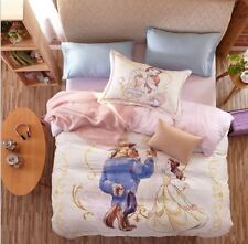 Bedroom with Four-Piece Items in Set Quilt Covers