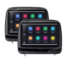 """XTRONS 2x 9"""" Kopfstütze DVD Player Touchscreen HDMI 1080P Verstellbares Monitor"""