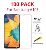 100Pack For Samsung Galaxy A10e Premium Tempered Glass Clear Screen Protector