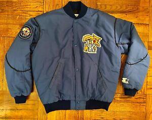 Vintage 1991 Kentucky Wildcats Starter Bomber Jacket uk jersey davis herro satin