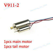 Main Motor + Tail Motor Repair Spare Parts for Wltoys V911-2 RC Helicopter