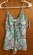 NWT Women's  A BYER Sleeveless Top Blouse shirt  Size Medium