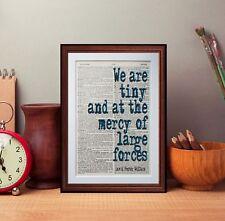 David Foster Wallace Diccionario página impresión de arte literario Libros de regalo decoración de casa