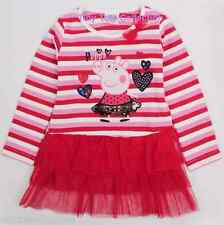 AUS Seller NEW with tags BNWT girls long sleeve tunic top tutu peppa size 4