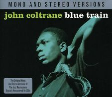 Blue Train Mono & Stereo - 2 DISC SET - John Coltrane (2012, CD NUOVO)