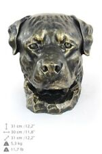 Rottweiler - dog head resin figurine, high quality, Art Dog