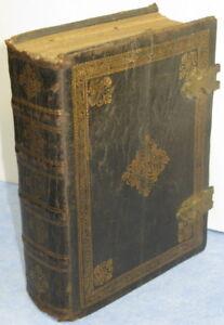 Officium B. Mariae Virginis, 1680, (bible!) 17 ème siècle - rare