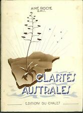 Clartés australes JOUBERT A. Roche Afrique Religion No scout Signe de Piste