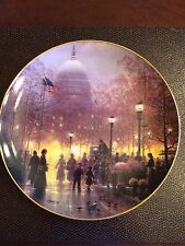 """G.Harvey Collector's Series 1991""""The American Dream""""Porcelain Plate #2268"""