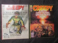 1978 CREEPY Warren Horror Magazine LOT of 2 Issues #98 FVF #99 VF-