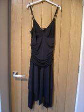 Jane Norman Black Dress Size 8 (Ref Z) Excellent Condition