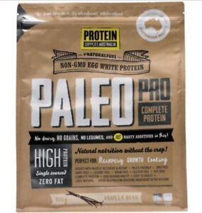 Protein Supplies Australia PaleoPro Egg White Protein Vanilla - 900g | Bulk