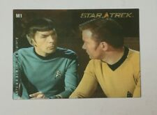 Star Trek 40th Anniversary M1 In Motion Lenticular Insert Card Kirk & Spock