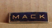 Vintage Mack Trucks Enamel Badge 1970's American Haulage 3.5cm