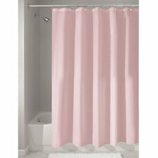 """Shower Curtain Mold and Mildew Free Waterproof Fabric Bathroom 72""""x72"""" Pink"""
