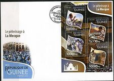 GUINEA 2015 DIANA, PRINCESS OF WALES, SHEET FIRST DAY COVER