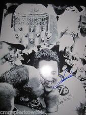 Mario Andretti signed 11x14 Vintage Photo Winning INDY 500  - Formula 1