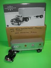 TEXACO Truck 100th ANN 1st GEAR 19-2822 1949 INTERNATIONAL KB-10 TRACTOR TRAILER
