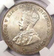 1920 Straits Settlements Dollar - NGC MS63 - Rare BU UNC Certified Coin
